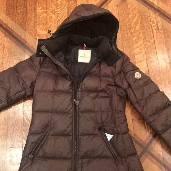 fd04458bc Brown Moncler Down Jacket